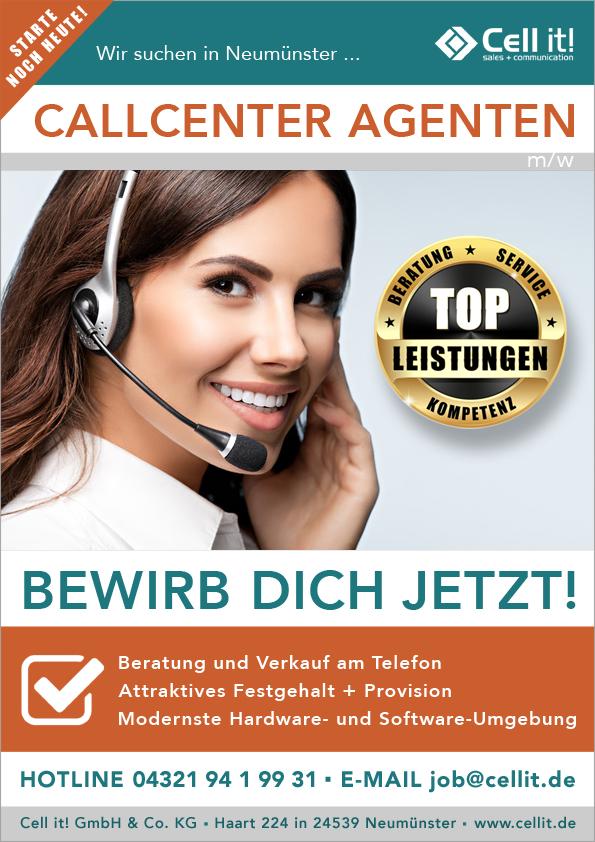 Call Center Agent (w/m) in Neumünster