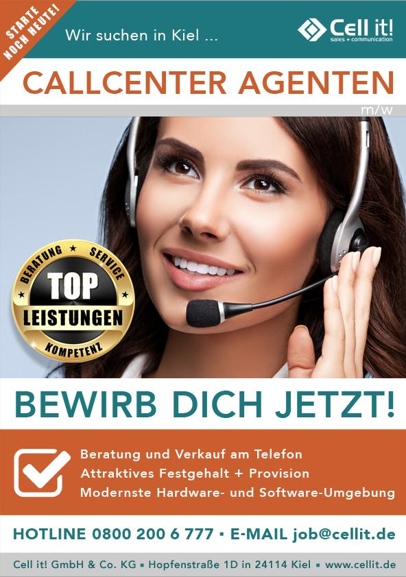 Call Center Agent (w/m) in Kiel